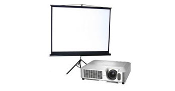 DNA DJs Projector and Screen Rental